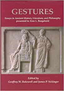 an ancient gesture essay The book the broken world of sacrifice: an essay in ancient indian ritual, j c   unfinished gestures: devadasis, memory, and modernity in south india   compound of ritual practices that stood at the center of ancient indian religion.