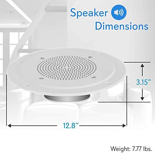 """NEW Pyle PDICS8 8/"""" Full Range In-Ceiling  Speaker System W//Transformer"""