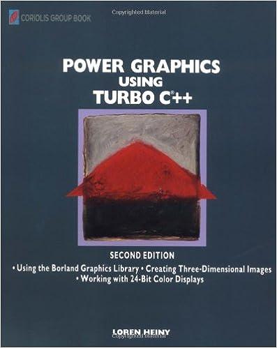 Amazon.com: Power Graphics Using Turbo C?++ (9780471309291): Loren Heiny: Books