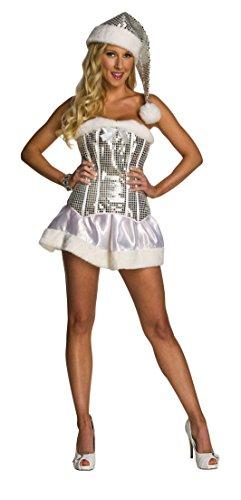 Winter Wonderland Costume (Rubie's Women's Winter Wonderland Dress, White,)