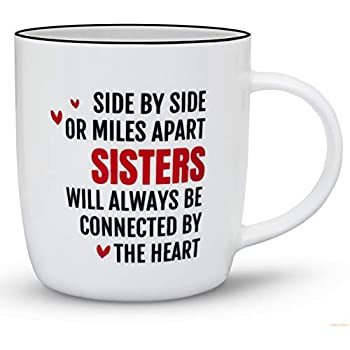 Amazoncom Gifffted Best Sister Ever Coffee Mug Funny Sisters Day