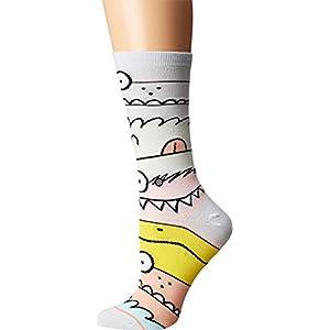 Stance Women's Monster Mash Crew Socks, Multi, Medium