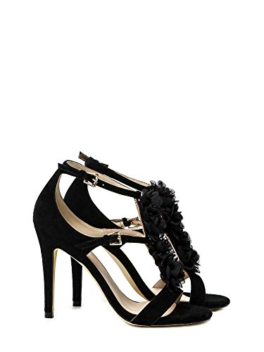 Liu-jo S17019P0021 High heeled sandals Frauen Black 35