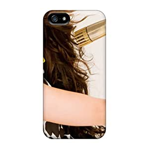 For Iphone 5/5s Premium Tpu Case Cover Miley Cyrus Breakout Protective Case