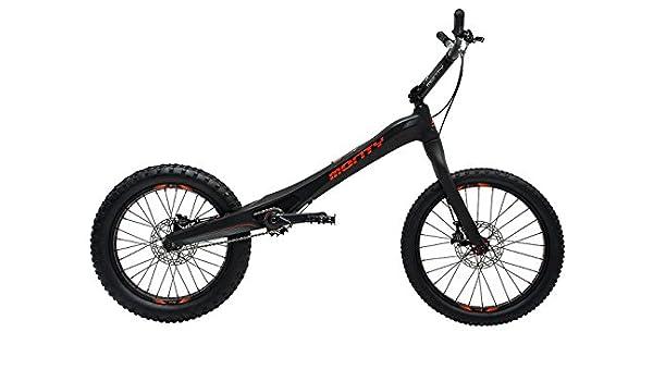 Monty M5 - Bicicleta de Trial, Color Negro/Rojo: Amazon.es ...
