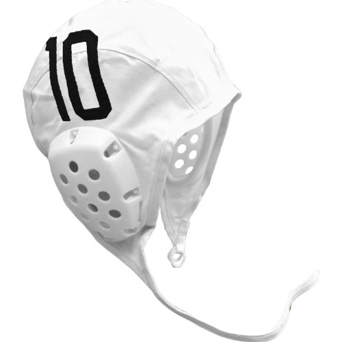 MAO Products Individual Water Polo Cap with Numbers