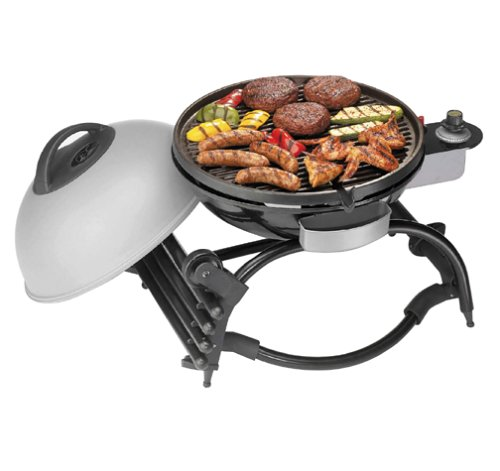 Amazon.com: George Foreman GP100SIL Wheel U0026 Grill: Patio, Lawn U0026 Garden