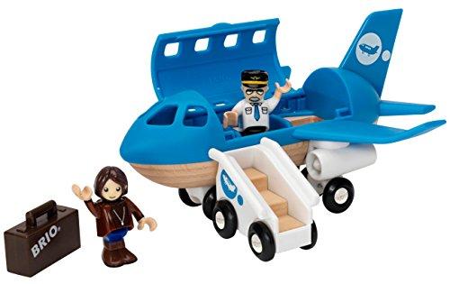 Review BRIO Airplane Train