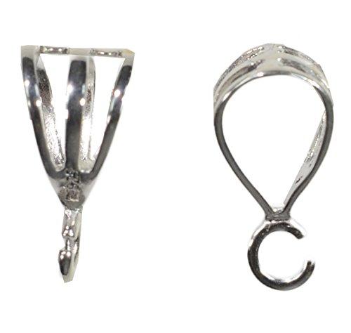 (Sterling Silver Triple Wire Bail 10mm (3))