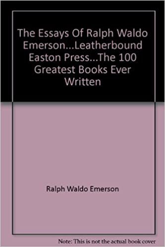 The Essays Of Ralph Waldo Emersonleatherbound Easton Pressthe  The Essays Of Ralph Waldo Emersonleatherbound Easton Pressthe   Greatest Books Ever Written Amazoncouk Ralph Waldo Emerson Edward F  Oday  Online Writing Labs also What Is Thesis In Essay  Gender Equality Essay Paper