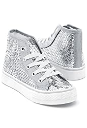 Shoes For Dance with Sequins High Top