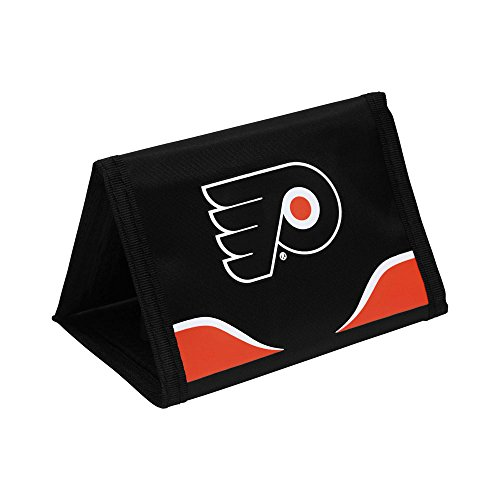 (NHL Philadelphia Flyers Trifold Nylon Wallet)