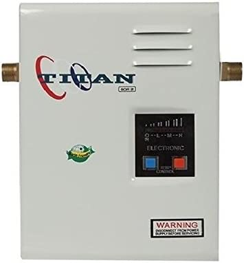 Titan N 85 Tankless Water Heater 220 V 38 Max Amps Amazon Com