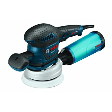 "Bosch ROS65VC-6 6"" Pad Rear-Handle Random Orbit Sander with Vibration Control"