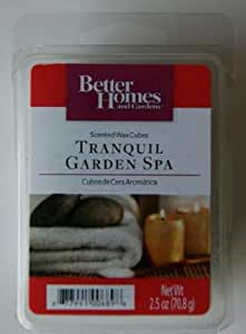 1 x better homes and gardens tranquil garden spa wax melts home kitchen for Better homes and gardens wax melts