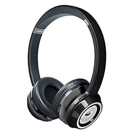 ae45640e06a Amazon.com: Monster NTune On-Ear Headphones - Black: Home Audio & Theater