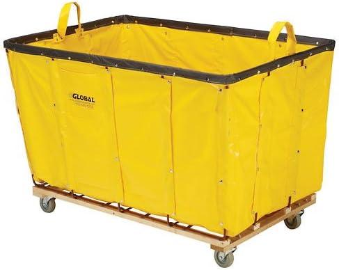 24 Bushel Yellow Vinyl Basket Bulk Truck