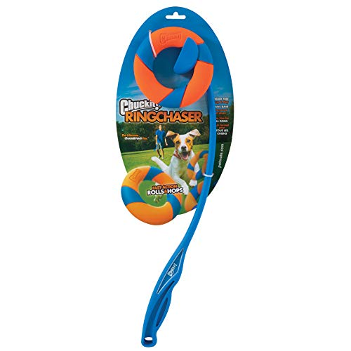 CHUCKIT! Ring Chaser Launcher Dog Toy