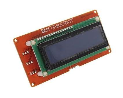 Arduino TinkerKit 16x2 Text LCD Module Shield T110061