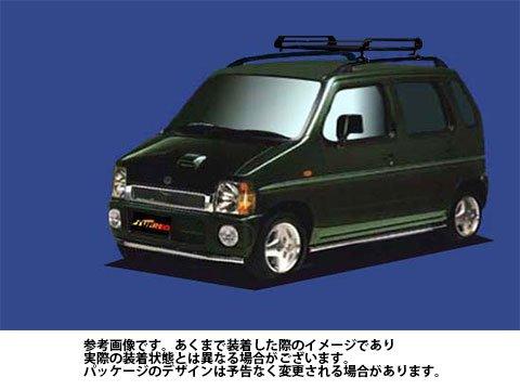 ルーフキャリア PR22 AZ-ワゴン / CY51S CY21S CZ21S Pシリーズ タフレック TUFREQ 精興工業 B06XZZ99CH