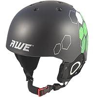 AWE® Duel™ Ski BMX en moule casque noir taille: 56-58cm