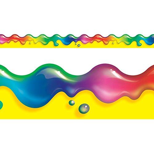 (TREND enterprises, Inc. T-92138BN Rainbow Gel Terrific Trimmers, 39' Per Pack, 12 Packs)
