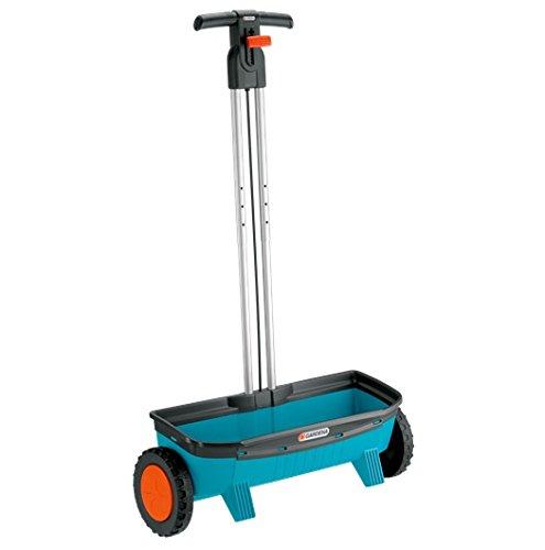 Drop Lawn Spreader (Gardena 433 Classic 20-Inch 3.1 Gallon Drop Spreader With Telescopic Handle 500)