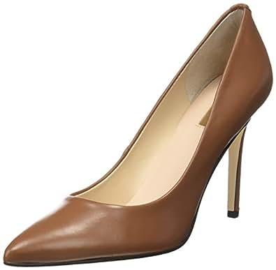 Guess FLPNN3 LEA08, Zapatos de Tacón con Punta Cerrada para Mujer, Marrón (Tan), 36 EU