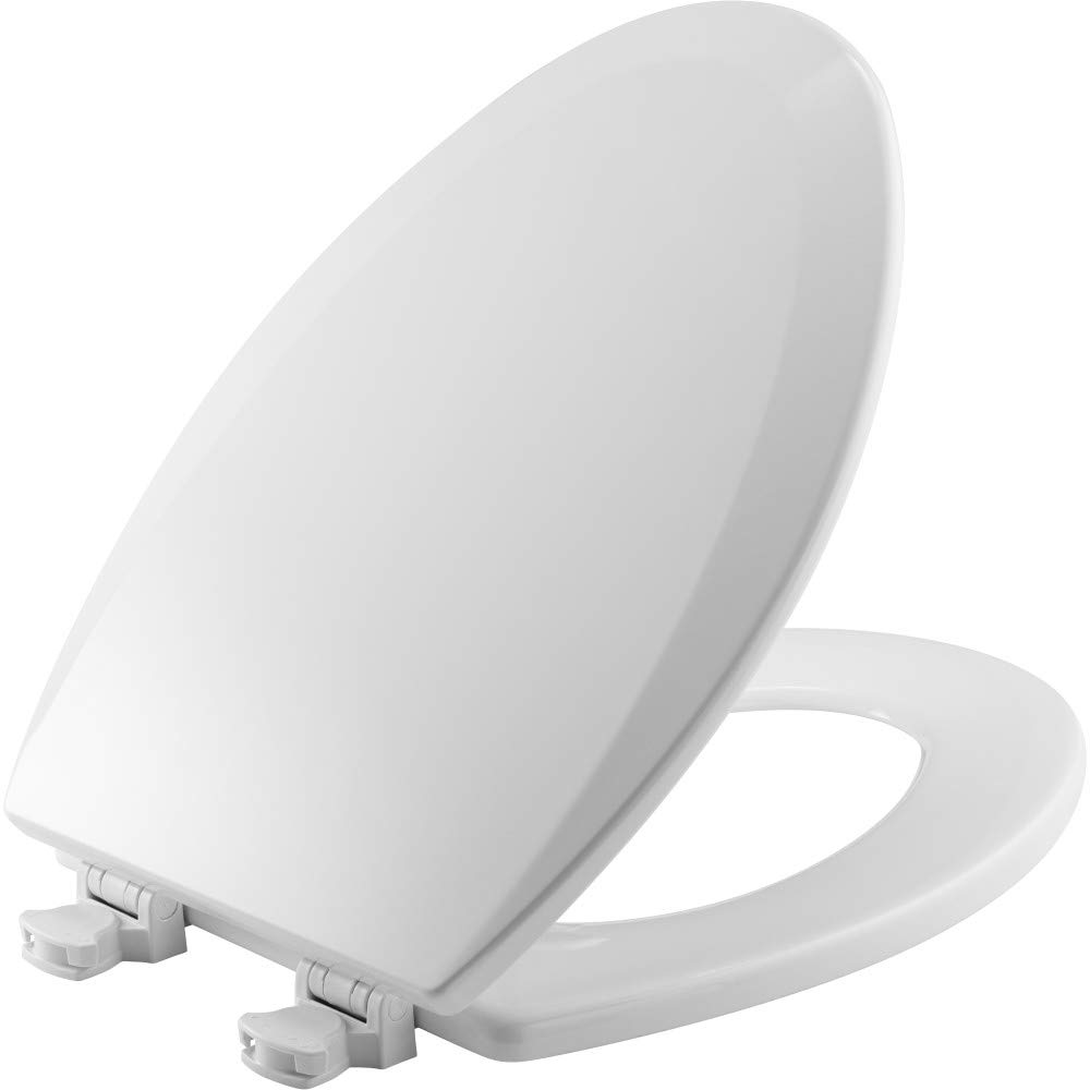 Fine Church 585Ec 000 Toilet Seat With Easy Clean Change Hinge Elongated Durable Enameled Wood White Ocoug Best Dining Table And Chair Ideas Images Ocougorg