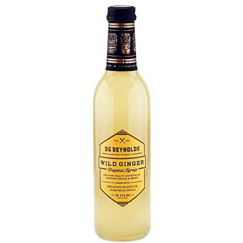 Bg Reynolds Wild Ginger Syrup  375Ml  1 Bottle