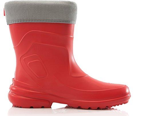 Lemigo Bota de Agua Muy Ligera Jessy 800 (Rojo88/Navy, 40) Rojo88/Gris