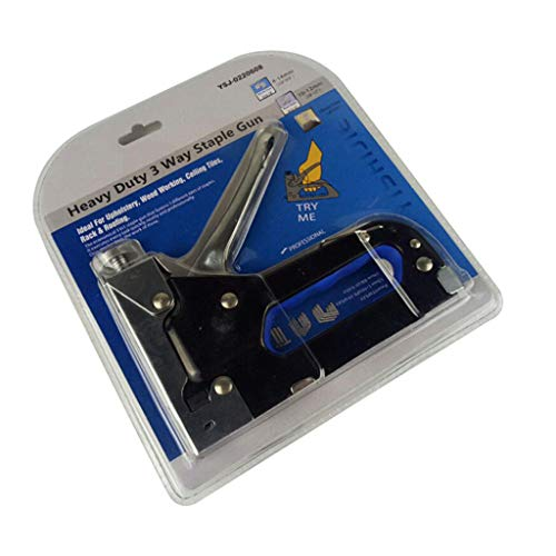 Homyl Nail Stapler Heavy Duty Upholstery Carpenter Hand Nailer with U/T/ Door Shaped Nails not Included by Homyl (Image #4)