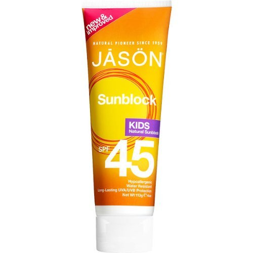 45 Sunscreen Spf Defense (Jason Kids Sunscreen Lotion SPF 45 4 oz (Pack Of 2))