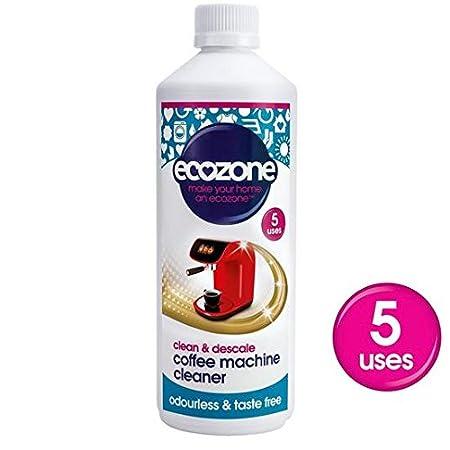 Ecozone Coffee Machine Cleaner Descaler 500ml Amazonco