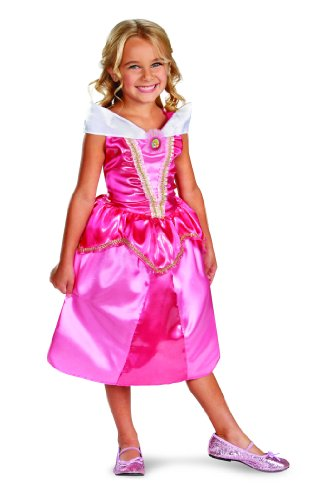 (Disguise Disney Sleeping Beauty Aurora Sparkle Classic Girls Costume,)