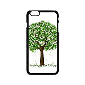 The Spring And Love Tree Hight Quality Plastic Case for Iphone 6