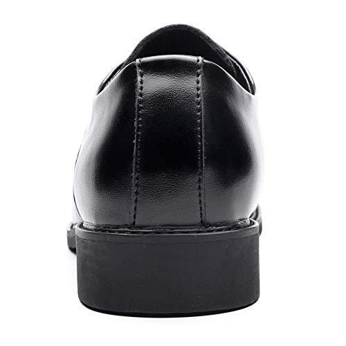 Formale NXY Allacciare Lavoro Nozze Moda da da Scarpe Nero Uomo Sera Wingtip Pelle Scarpe qFF8t1r