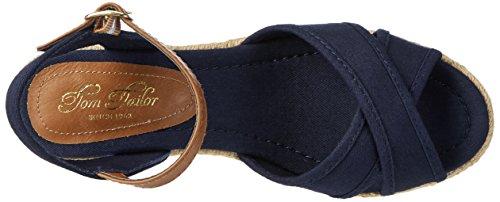 Tom Tailor 2799006 - Sandalias Mujer azul (navy)