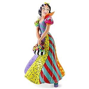 Enesco Disney by Britto Snow White and The Seven Dwarfs Figurine, 8.07 Inch, Multicolor