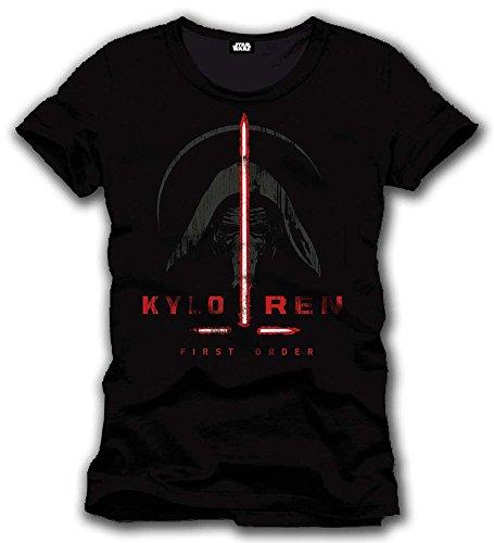 Star Wars Episode VII T Shirt Kylo Ren First Order Taglia XL