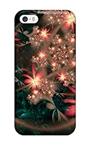 (JMDELRl4580tgxlY)durable Protection Case Cover For Iphone 5/5s(pretty Sparkling Flowers )