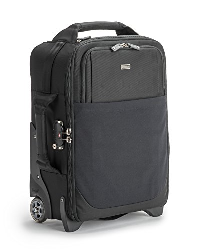Think Tank Airport International V3.0 Rolling Camera Bag for 2 Gripped DSLRs with Lenses Attached, 2-4 Additional Lenses, 15'' Laptop, 10'' Tablet by Think Tank Photo