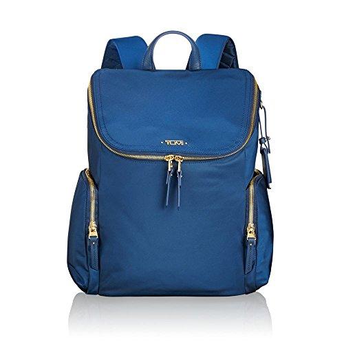Tumi Women's Voyageur Lexa Zip Flap Backpack Ocean Blue