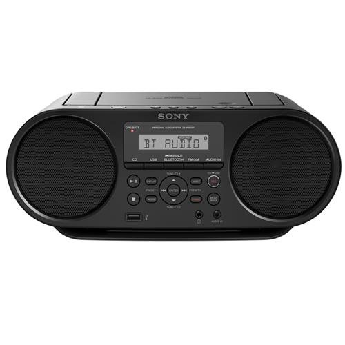 Sony ZSRS60BT CD Boombox with Bluetooth and NFC (Black) by Sony