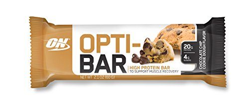Optimum Nutrition Opti-Bar, Chocolate Chip Cookie Dough, 12 Count