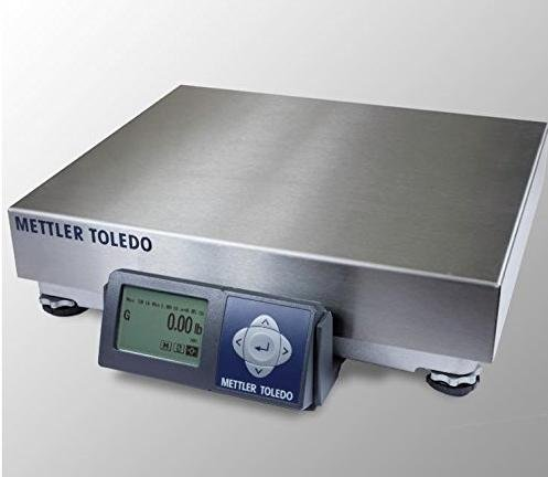 Mettler Toledo Bench Scale PS series Shipping UPS Bench Scale,NTEP Legal For Trade,RS232, 150 lb x 0.05 lb,New Mettler Toledo Cable