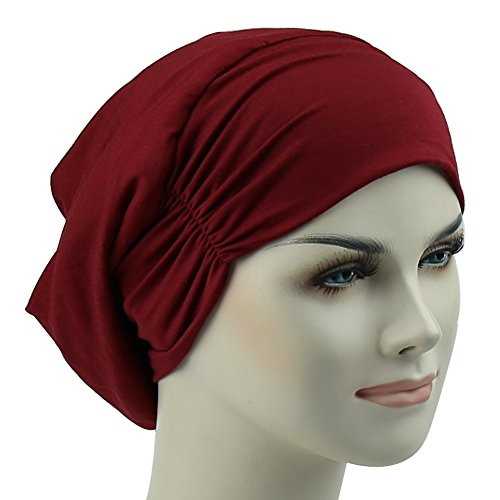 8c1ca42446d Feminine Satin Lined Cap Frizzy Hair Headwear Sleep Bonnet Best Gifts For  Long Hair Girl