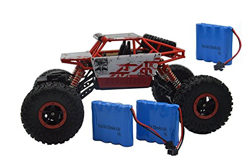 10 Off Road Electric Truck (Blomiky 1:18 Scale 4WD High Speed Red Toy RC Cars Electric Buggy Hobby Off-Road RC Truck Vehicle Extra 2 Battery C181 Red)