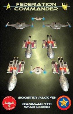 Federation Commander Booster 12 ADB 4212 by Amarillo Design Bureau