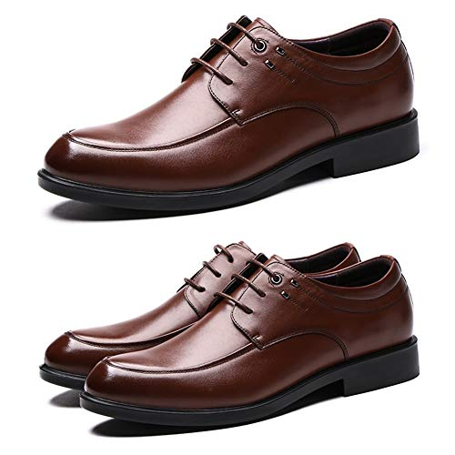 Da Formale Casual In Pelle Da Mocassini Scarpe Colore US 9 Colloquio Uomo LXLA UK Uomo dimensioni 5 Con Brown Da Uomo Uomo Brown Stringate Per 5 8 qwIE6nPv